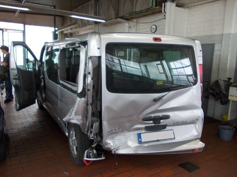 Naprawa bezgotówkowa auta po wypadku w Niemczech