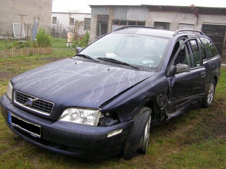 Szkoda ACw wypadku samochodowym w Niemczech