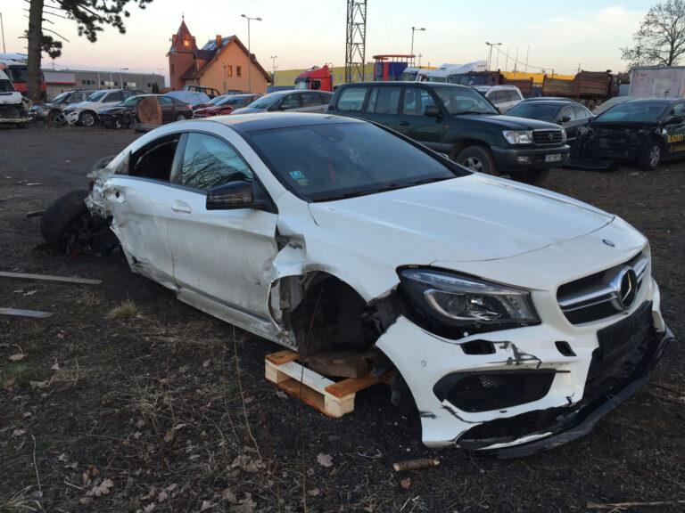 Wartość pozostałości pojazdu po wypadku po wypadku w Niemczech