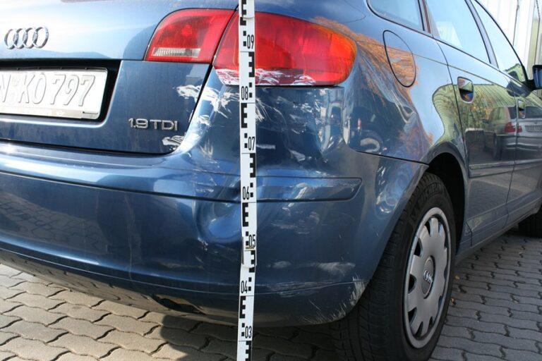 Zachowanie po kolizji samochodowej w Belgii
