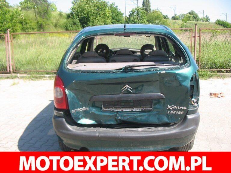 Oględziny pojazdu po wypadku