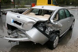 Wartość pozostałości samochodu (wraku) po wypadku w Niemczech