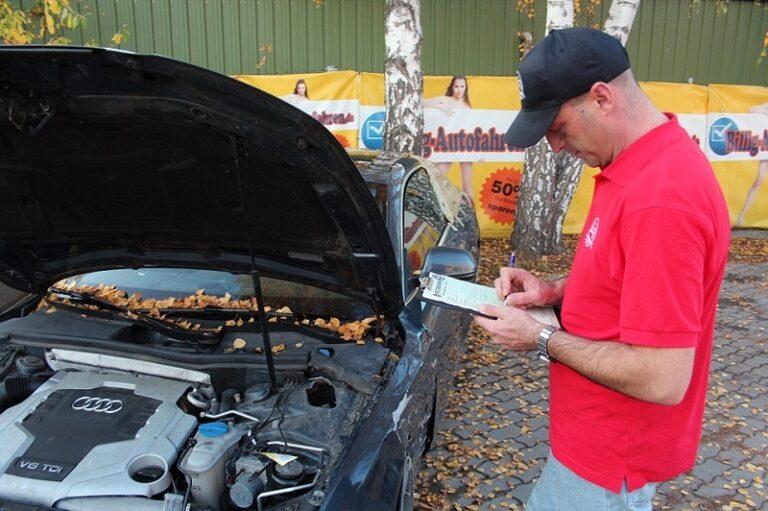 Niemieckie kosztorysy napraw po wypadku lub kolizji samochodowej.