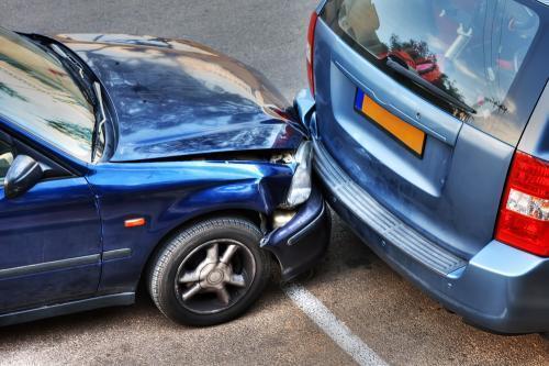 Kolizja samochodem w Holandii