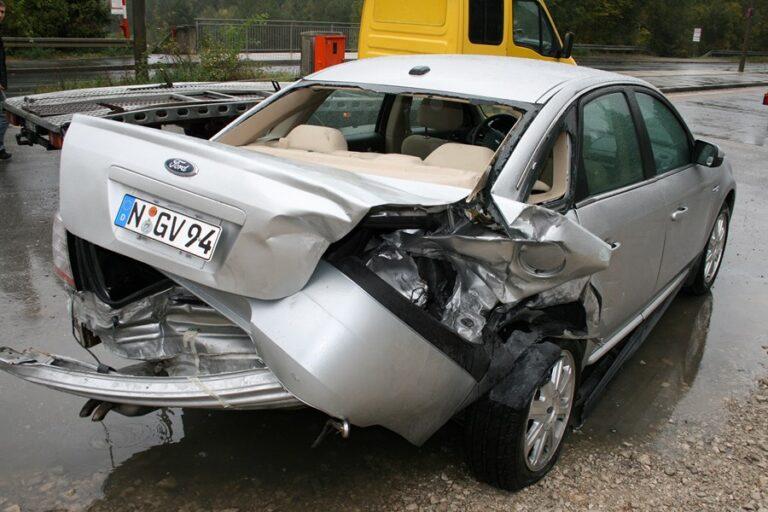 Kolizja samochodem w Anglii a odszkodowanie