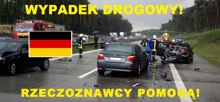 Jak zachować się w sytuacji wypadku drogowego na terenie Niemiec?